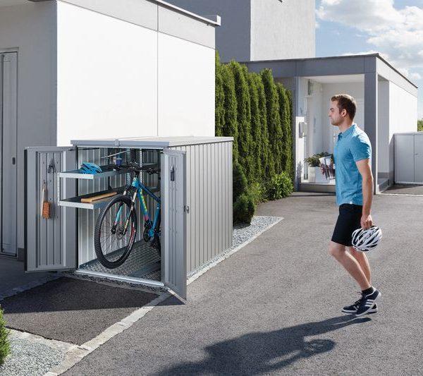 гараж для велосипеда